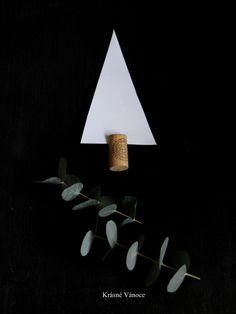 DIY – vánoční stromky