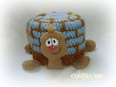 Klopapierhüte & -verstecker - Klopapierhut Schildkröte Toilettenpapierhut - ein Designerstück von contra0815 bei DaWanda
