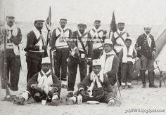 Ejército boliviano en Tacna.