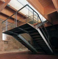 quite unique stair structure