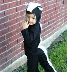 DIY Skunk costume for kids - Halloween costume // Borz jelmez gyerekeknek egyszerűen - farsangi jelmez // Mindy - craft tutorial collection // #crafts #DIY #craftTutorial #tutorial