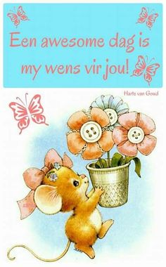 Good Morning Flowers, Good Morning Wishes, Morning Messages, Lekker Dag, Afrikaanse Quotes, Goeie More, Morning Images, Cute Quotes, Deep Thoughts