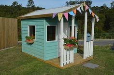 Cubby House Paint Scheme's and Design Ideas, Tips and Tricks