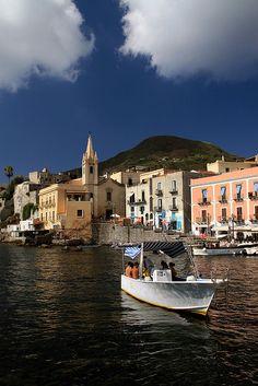 Lipari, Aeolian Islands(Isole Eolie), Sicily, Italy  #lipari