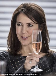 Mandatory Credit: Photo by Aller Media AS/REX/Shutterstock (8074876w) Crown Princess Mary ...