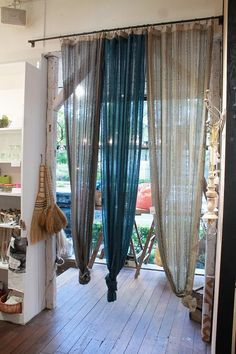 Boho, Chic And Cheap Decorating Ideas For Any Home Closet Curtains, Boho Curtains, Cute Home Decor, Curtain Designs, Bohemian Decor, Boho Chic, My Room, Home And Living, Decoration