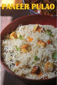 Paneer pulao which is super easy to make and taste so delicious. It is simple and one of the quickest pulao you could ever make. Paneer Recipes, Veg Recipes, Vegetarian Recipes, Cooking Recipes, Healthy Recipes, Healthy Kids, Paneer Recipe For Kids, Eating Healthy, Fall Recipes
