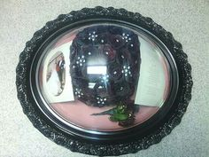 Preserved Wedding Bouquet in a gloss black frame from Lasting Memories Floral Preservation  248.375.7755 www.LMFP. net