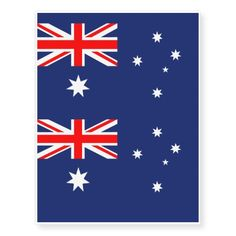 569fd0cf49 Australia flag temporary tattoo Australian Flags, Large Canvas, Union Jack,  Temporary Tattoos,