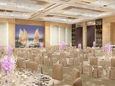 Rendering of Fairmont Baku, designed by HBA/Hirsch Bedner Associates.