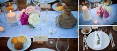 Bride in Italy: Real Wedding | Un banchetto all'aperto con peonie multicolori | WeddingPhotos