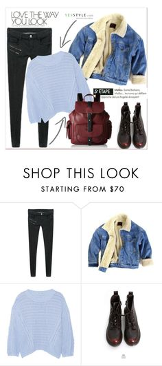 """""""YesStyle - 10% off coupon"""" by amra-mak ❤ liked on Polyvore featuring PEPER, ssongbyssong, Autumn Cashmere, Goroke, Kenneth Cole Reaction, yesstyle and winteressentials"""