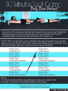 30 Minute Boot Camp Workout - Body Burn #bootcamp #workout