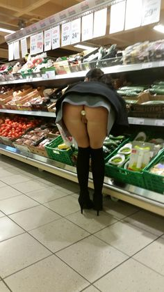 Was specially upskirt flashing store public day, purpose