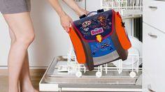 Scout Ranzen in der Spülmaschine reinigen