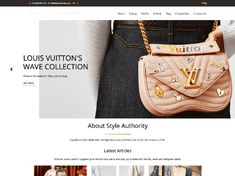 Affordable customised logo design, Wordpress web design and web development in Cape Town. Take a look at our latest project for Style Authority.