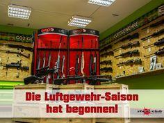 Die Luftgewehr-Saison hat begonnen!