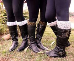 Receitas Círculo - Boot Cuffs