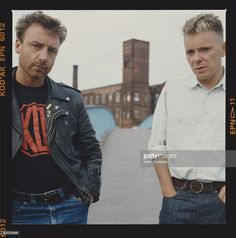 Peter Hook and Bernard Sumner (1980s)