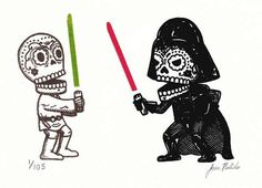 Jose Pulido Puts a Mexican Spin on the 'Star Wars' Saga trendhunter.com