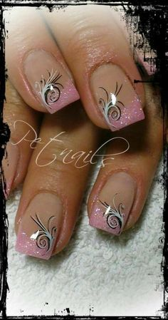 beautiful nail design ideas for spring nails - page 70 of 99 - nage . - beautiful nail design ideas for spring nails – page 70 of 99 – nail design image … G - Fingernail Designs, Toe Nail Designs, Acrylic Nail Designs, Nails Design, Pedicure Designs, Acrylic Nails, French Nail Designs, Pink Design, Salon Design