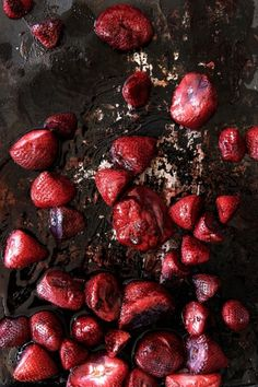 Strawberries food-photography