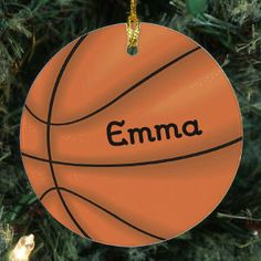 Sports Christmas Tree Ornaments | Baseball, Basketball, Football, Soccer, Hockey, Licensed College and Pro Team Ornaments + more sports themes.