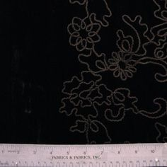 Maroon Black Charcoal Marbled Red Embroidered Polyester Dressmaking Fabric