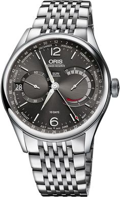 405bebb36ef Oris Artelier Black Dial Stainless Steel Men s Watch 43 mm stainless steel  case with a black dial