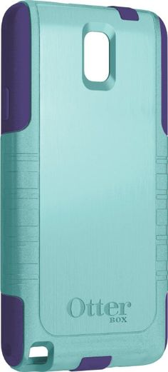 OtterBox Commuter Series Case for Samsung Galaxy Note 3 - Lily (Aqua Blue/Violet Purple)