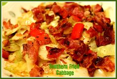 Fried cabbage is a whole lot like so many other things we 'fry' in the South...fried apples, fried corn. We call it fried, bu...