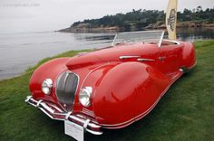 1947 Delahaye 135 M. The Figoni et Falaschi is one of the most beautiful cars ever made...But all of the Figonis were just incredibly beautiful works of art. Remarkable things.
