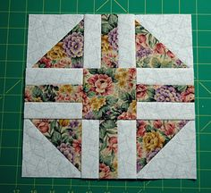 Paths and Stiles Quilt Block Pattern