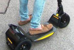Carbon Scooter im Einsatz - F1-Feeling pur!
