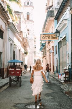 20 Photos to Inspire You to Visit Havana • The Blonde Abroad  So close yet so far. For countless years, Americans weren't allowed to travel into Cuba and the island remained lost in time. Far from the tourist havens of Mexico and Florida, Cuba became a place like no other. And then it finally opened up travel from the US (or rather, it's somewhat open, the situation is complicated).