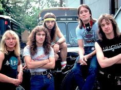 Iron Maiden takes Texas in 1982 – a classic feature from the vaults Iron Maiden Guitarist, Gypsy, Jazz, Dave Murray, Learn Guitar Chords, Adrian Smith, Bruce Dickinson, Music Theater, Heavy Metal Bands