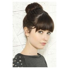 20 Easy Updo Hairstyles for Medium Hair via Polyvore featuring beauty products, haircare, hair styling tools and hair