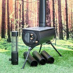 Frontier Plus: a next-generation portable woodburning stove