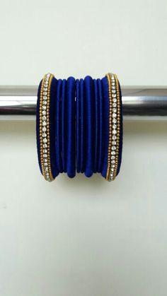 Silk Thread Bangles, Thread Jewellery, Jewelry, Tread Art, Bracelet Set, Quilling, Creative, Projects, Diy