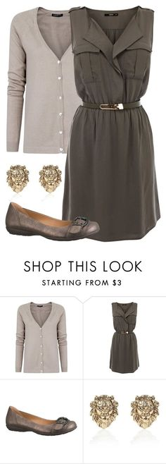 Teacher Outfits on a Teacher's Budget 122 is part of womens fashion Casual Teacher - A fashion look from August 2013 featuring shift dress, vneck tops and studded flats Browse and shop related looks Casual Dress Outfits, Business Casual Outfits, Professional Outfits, Mode Outfits, Fashion Outfits, Womens Fashion, Dress Fashion, Trendy Fashion, Outfits 2016