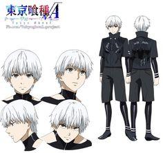 New Kaneki Ken character design