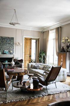 Salon Céline Faraud Appartement Paris
