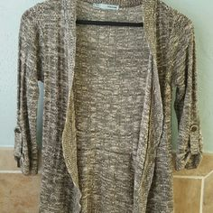 Olive cardigan Looks super cute with a baby pink tank! Maurices Sweaters Cardigans