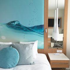 Eggshell Home - Pasea Hotel Spa Beach Modern Bedroom Statement Headboard