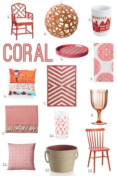 For the Love of Color: Coral