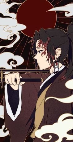 Manga Anime, Anime Demon, Anime Chibi, Kawaii Anime, Anime Guys, Anime Art, Demon Slayer, Slayer Anime, Character Art