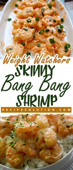 "Skinny Bang Bang Shrimp MEALS ""No one knows Weight loss meals like we do"" - With these recipeYou can find Weight watchers lunches and more on our website.Skinny Bang Bang Shrimp MEALS ""No one knows Weight loss meals like we do"" - With thes. Weight Loss Meals, Weight Watcher Dinners, Weight Watchers Shrimp, Dessert Weight Watchers, Plats Weight Watchers, Weight Watcher Smart Point Meals, Weight Watchers Frozen Meals, Weight Watcher Breakfast, Weight Watchers Sides"