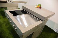Messeauftritt #Blühendes Österreich in Wels-Concreto Kitchen Island, Cool Stuff, Design, Home Decor, Wels, Island Kitchen, Decoration Home, Room Decor
