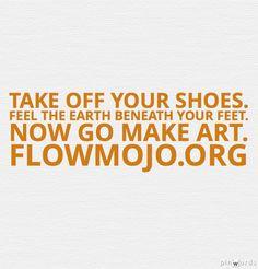 Creativity, yoga & the root chakra. Make Art, How To Make, Take Off Your Shoes, Ayurveda, Chakras, Flow, Creativity, Yoga, Feelings