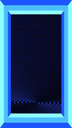 Peace Sign Art, Metal Screen, Blue Wallpapers, Blue Art, Skyscraper, Light Blue, Turquoise Art, Abstract, Cobalt
